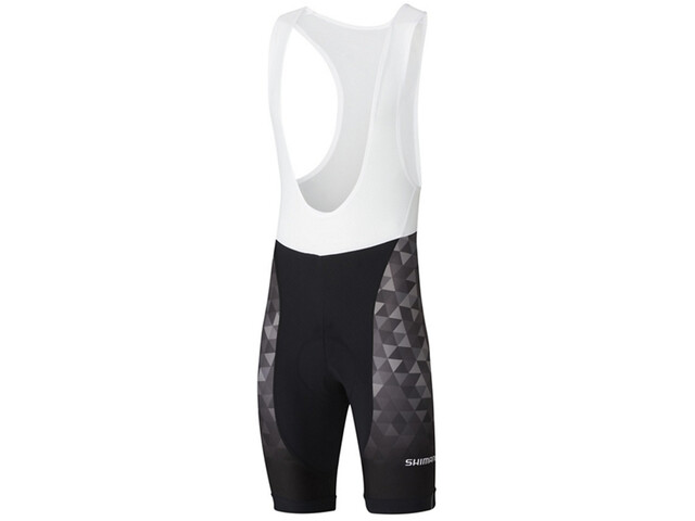 Shimano Team Bib Shorts Men black